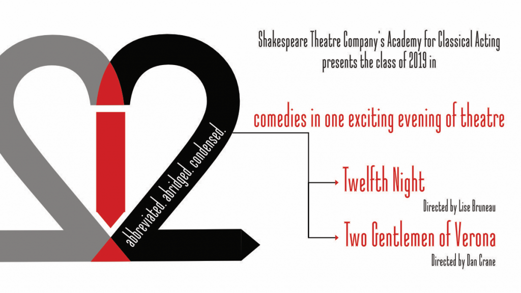 Twelfth Night and Two Gentlemen of Verone - Two 1-hour Comedies in one exciting evening of theatre